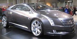 Cadillac ELR - Image: Cadillac Converj 1 2010 DC