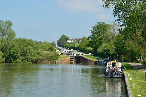 Caen Hill Locks, 2016