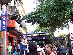 Cafés on Boedo Avenue