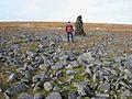 Cairn near the summit of Cross Fell - geograph.org.uk - 664636.jpg