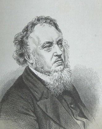 William Williams (Caledfryn) - Engraving from Ceinion Llenyddiaeth Gymreig (1876)