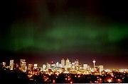 Calgary-Northern lights