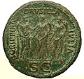 Caligula sesterce Gallica 15985 revers.jpg