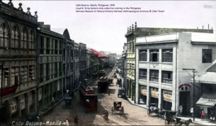 Calle Rosario, Manila, Philippines, 1915.png