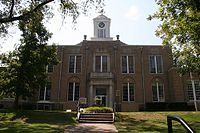 Ouachita County Courthouse in Camden