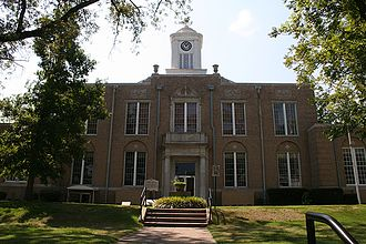 Ouachita County, Arkansas - Image: Camden, Arkansas Courthouse