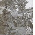 Camel square in old Peking during the Qing Dynasty (circa 1880).jpg
