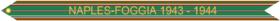 Campaign Streamer Naples-Foggia 1943–1944