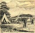 Campamento de un batallón de infantería de línea en la Ensenada (Corrientes).jpg