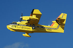 Canadair CL-415 operating out of Dryden, Ontar...