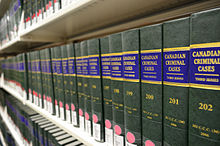 the realm of criminal law