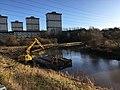 Canal at Firhill, Glasgow.jpg