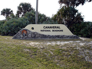 Canaveral National Seashore - Image: Canaveral National Seashore 0