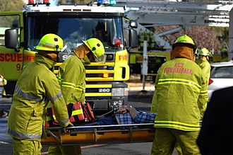 ACT Fire and Rescue - Image: Canberra firefighters e 1
