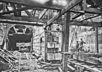 Cannon House Office Building - Construction of Cannon Tunnel, c. 1904