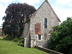 Greyfriars, Canterbury - Greyfriars Chapel