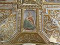 Cappella serragli, volta 01 santi di tito e tiberio titi 05 doni dello spirito santo.JPG