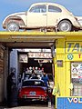 Car Wash with Derelict VW Beetle - Ensenada - Baja California Norte - Mexico (6922215129).jpg
