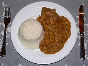 Carapulcra - A carapulcra dish