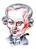 Caricature de Kant