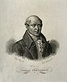 Carlo Guattani. Line engraving by G. Marcucci after G. Clete Wellcome V0002433.jpg