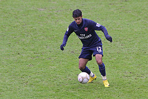 Carlos Vela - Carlos Vela featuring for Arsenal in 2010