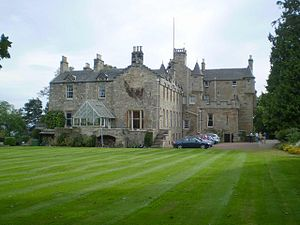 Carriden House - Carriden House from the west