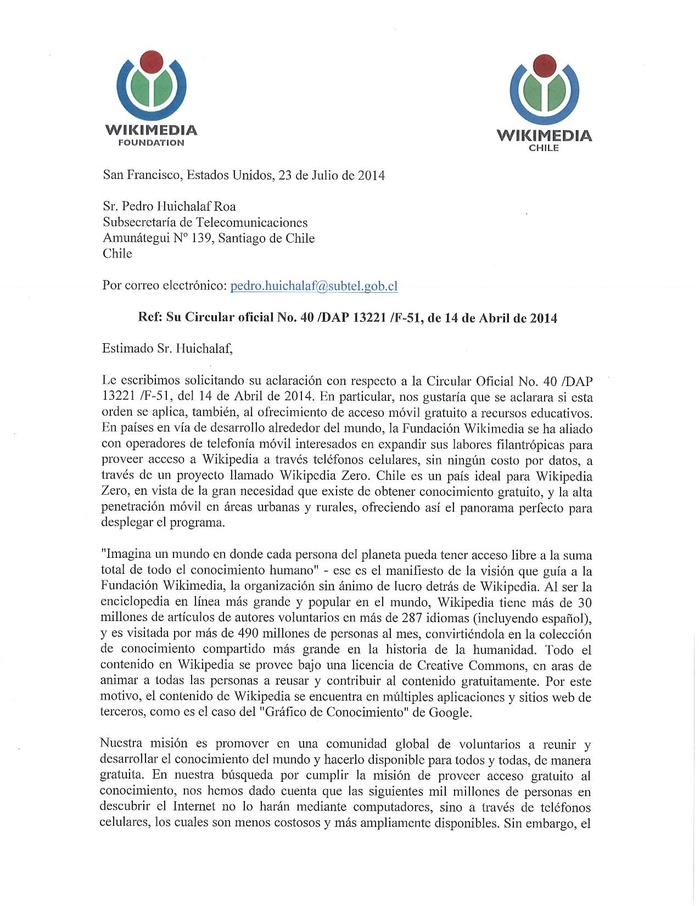 Carta a SUBTEL ref Wikipedia Zero.pdf