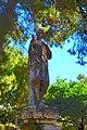 Cartoonish Lady fountain at San Anton Palace.jpg
