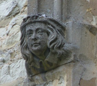 Betchworth - Carving, St Michael's Church, Betchworth