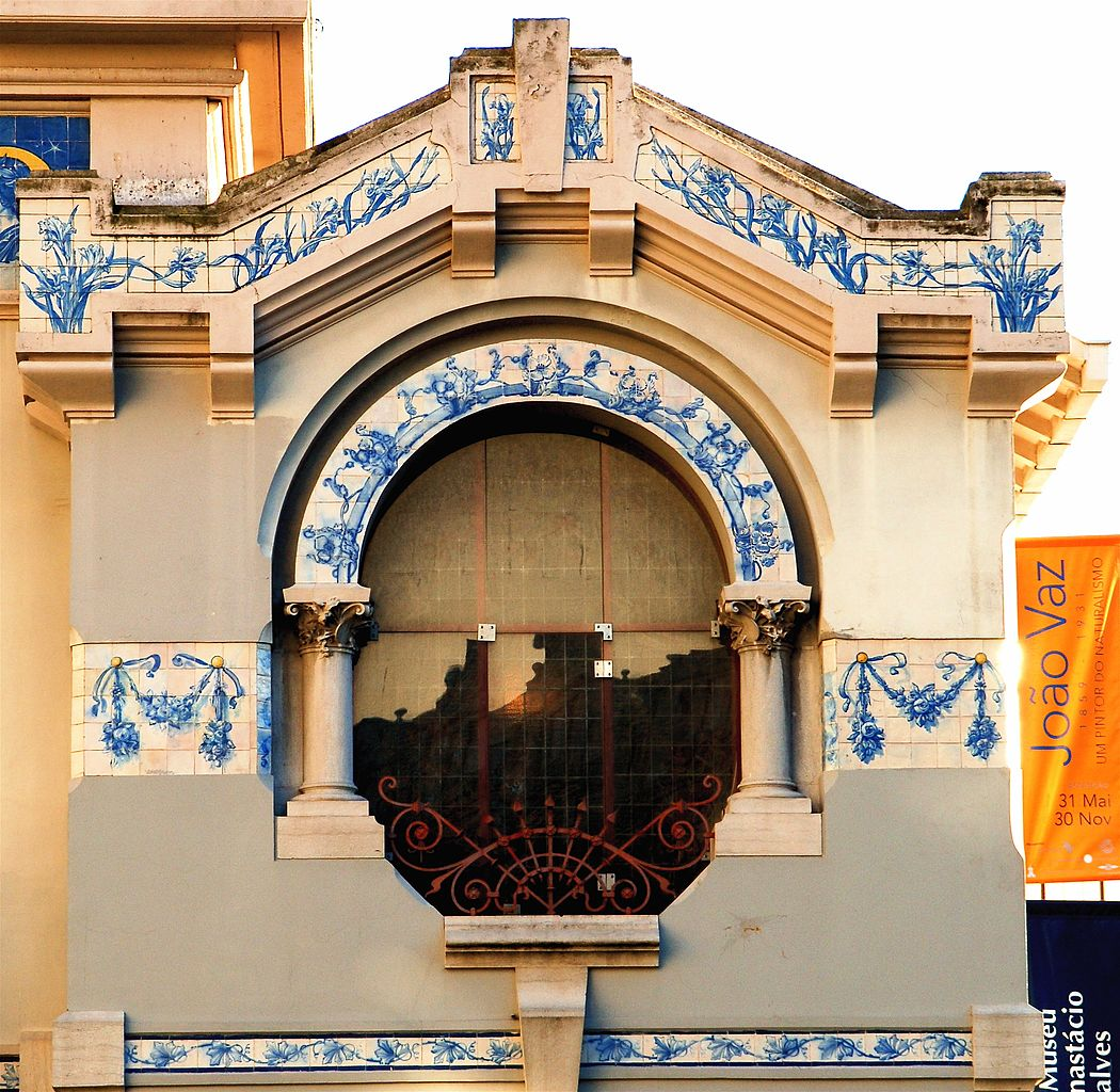 > Fenêtre de la Casa-Atelier José Malhoa à Lisbonne - Photo de Pedro Ribeiro Simões