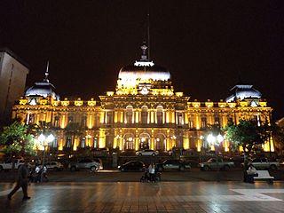 Casa de Gobierno de noche