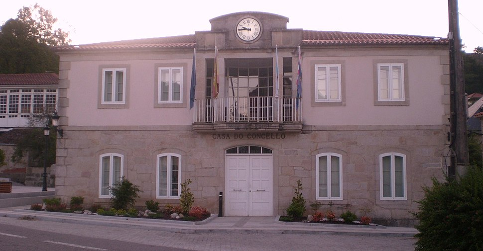 Casa do concello de Melón, Ourense