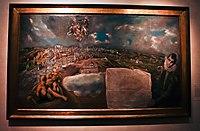 Casa y Museo del Greco, cuadro Vista y Plan de Toledo.jpg