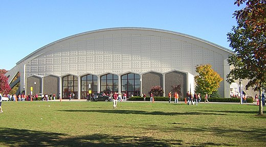 Virginia Tech's Cassell Coliseum Cassell Coliseum wide shot.jpg