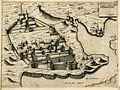 Castel nuovo fortezza nella Dalmatia - Camocio Giovanni Francesco - 1574.jpg