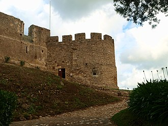 Torres Vedras - The keep tower of the Moorish Castle of Torres Vedras, used in battle in the nation's infancy