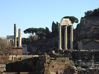 Pliny the Elder - The temple of Castor and Pollux in Rome
