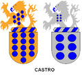 Castro family coat of arms (Portugal).PNG