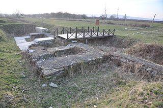 Tibiscum Roman fort in Dacia