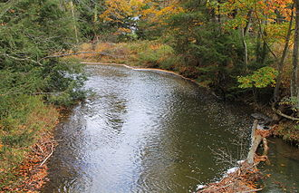 Catawissa Creek - The creek near Brandonville, Pennsylvania