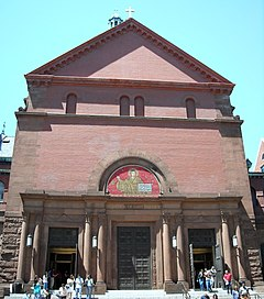 Cathedral of St. Matthew the Apostle facade.JPG