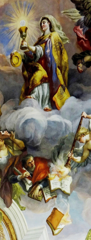 Catholic faith defeating heresies (Karlskirche Vienna)