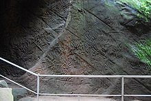 Cave drawings from as early as 5000 BC to 1000 BC.jpg
