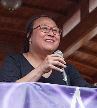 Cecilia Chung - At Trans March San Francisco, June 2017