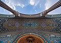 Ceiling of interance of a room in Atabaki sahn in Fatima Masumeh Shrine, Qom,Iran4.jpg