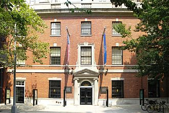 Leo Baeck Institute New York - The Leo Baeck Institute in the Center for Jewish History on 16th Street in Manhattan