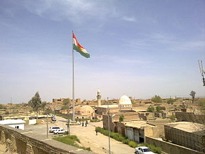Citadel of Erbil - Image: Center of Hewler Castle