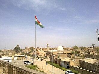 Citadel of Erbil - Image: Center of Hewler Castle