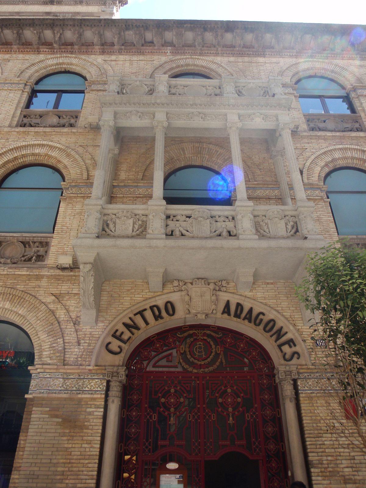 Centro aragon s de barcelona wikipedia la enciclopedia for Centros de jardineria barcelona